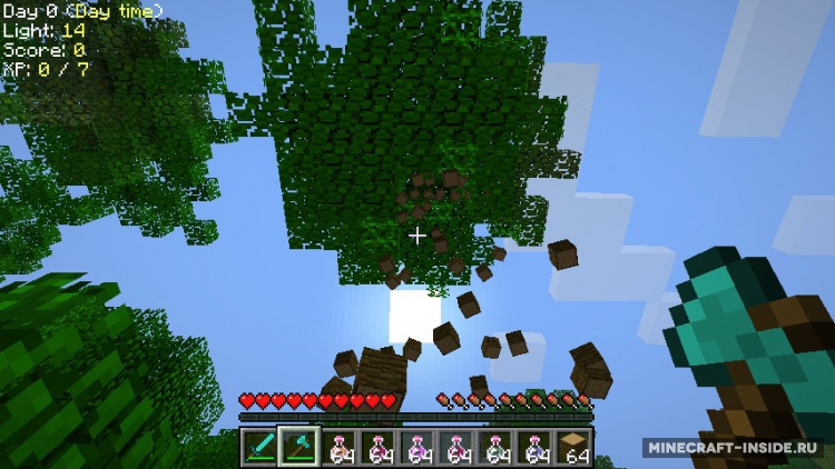 Скачать Мод На Мгновенное Срубание Деревьев