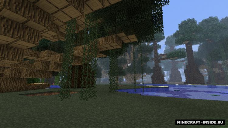 Мод на Круглые Деревья