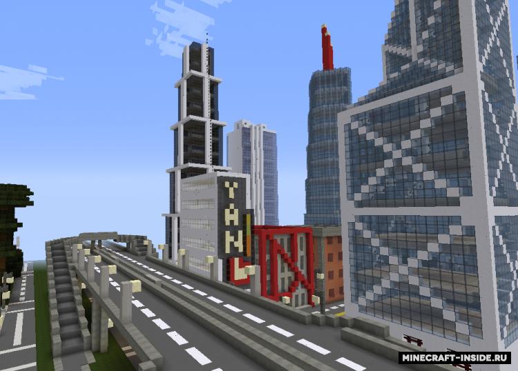 Скачать карту москва для майнкрафт minecraft | minecraft.
