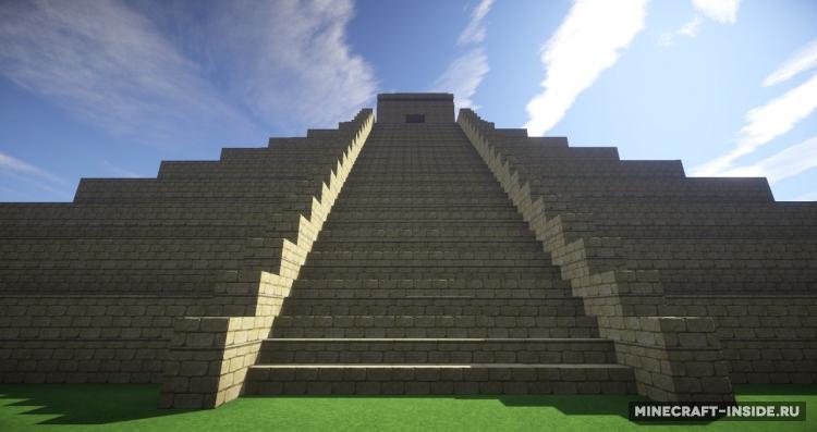 Скачать Карты для Minecraft Пирамида