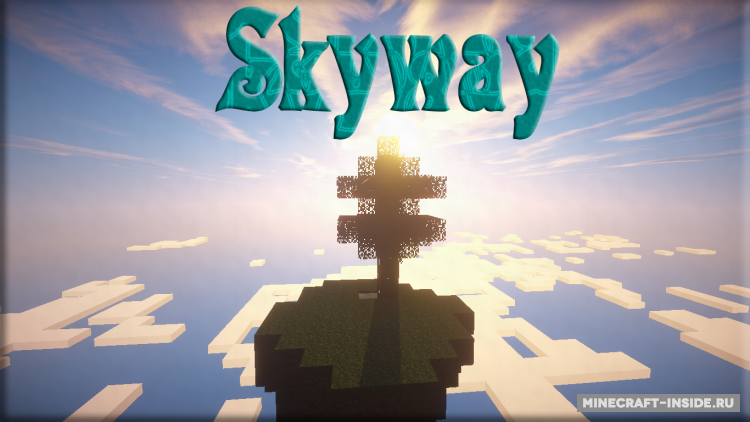 Skyway island скачать карту для майнкрафт